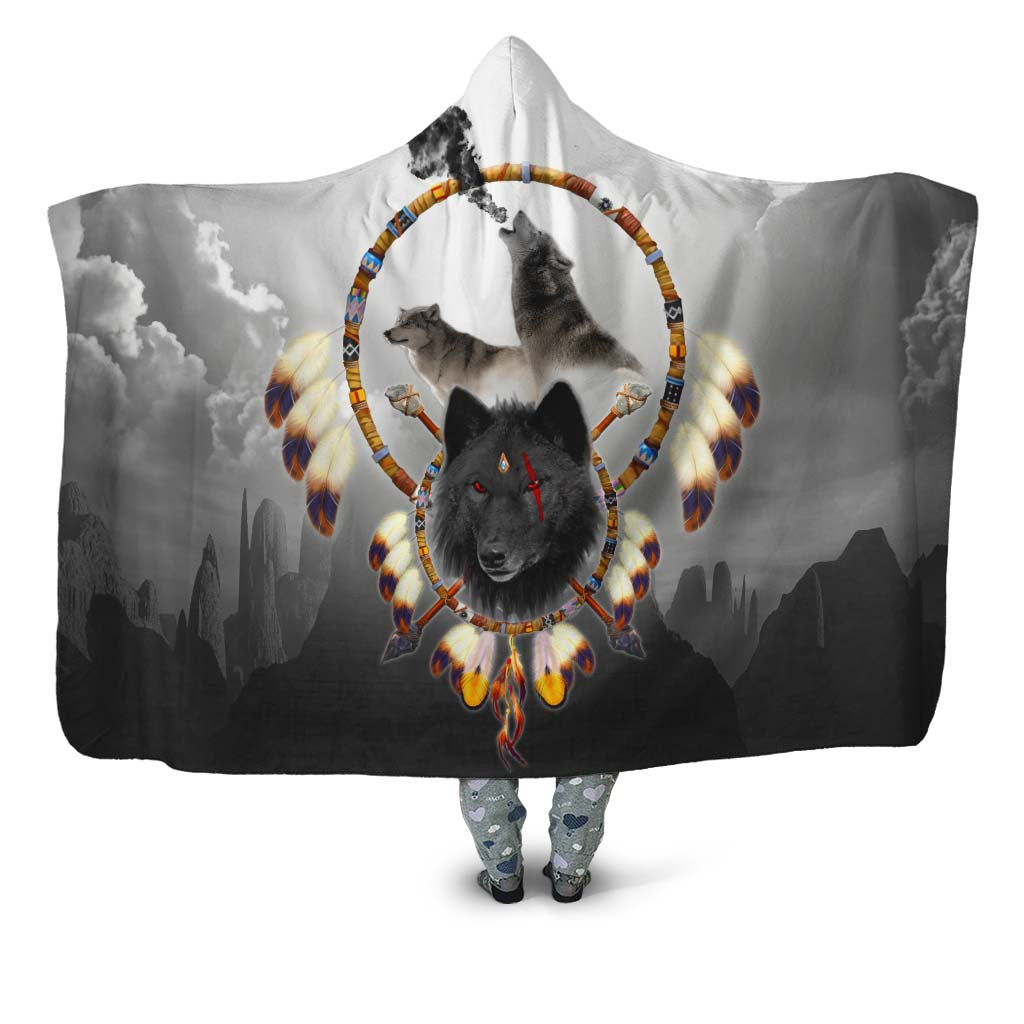 Alpha Warrior Hooded Blanket