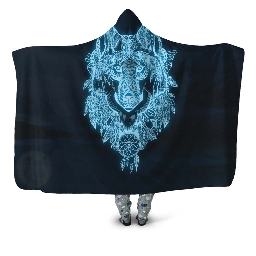 Lucien Hooded Blanket