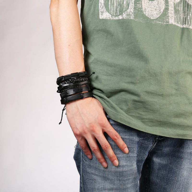 Contemporary Leather Bracelet