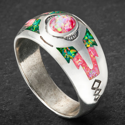 """Sleeping Beauty Mountain"" Ring with Personalization"