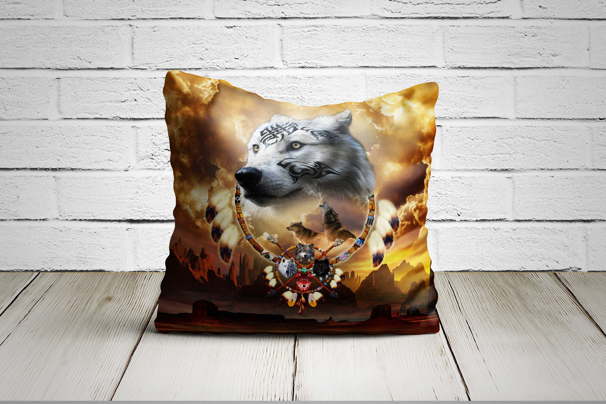 Songs of the Elder Warrior Pillow Case