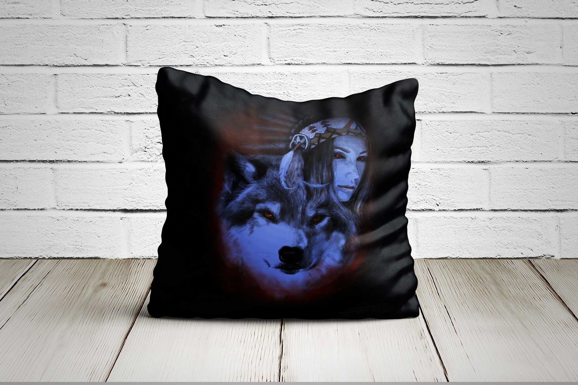 My Wolf My Spirit Pillow Case