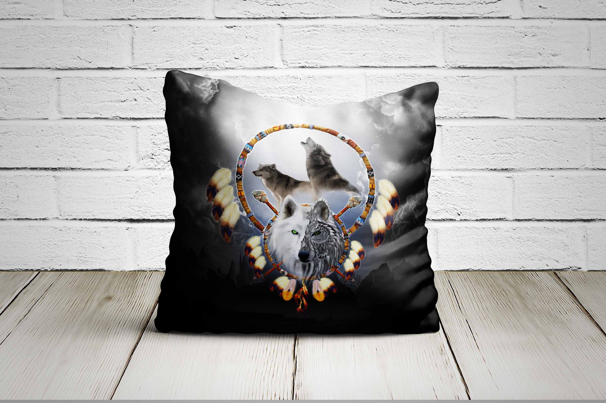 Omega Wolf Pillow Case