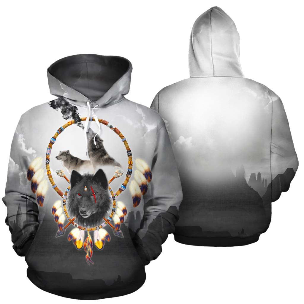 Alpha Warrior All Over Print Hoodie