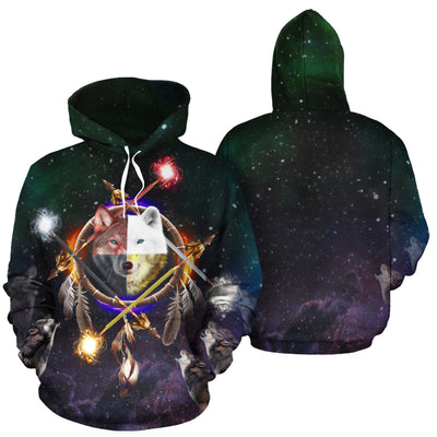 4 Ages All Over Print Hoodie