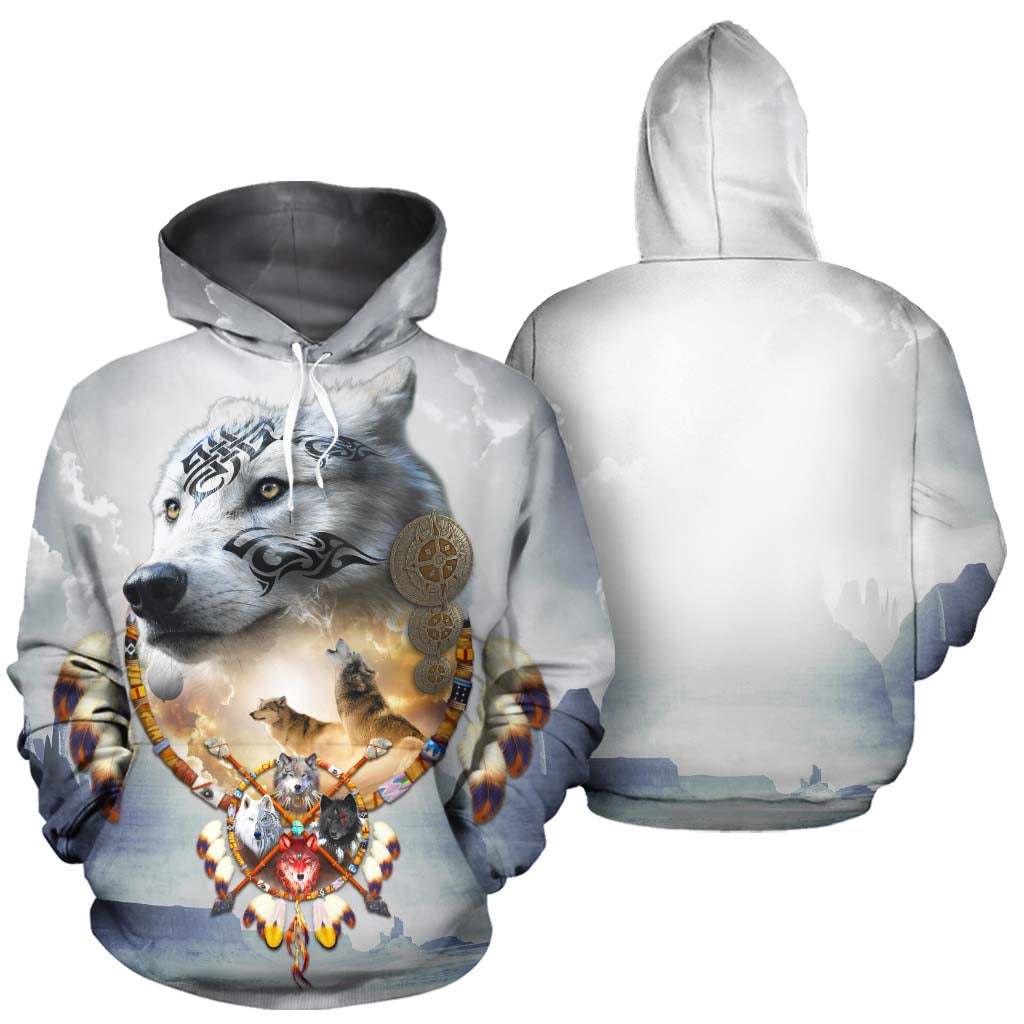 Songs of the Elder Warrior All Over Print Hoodie Dark