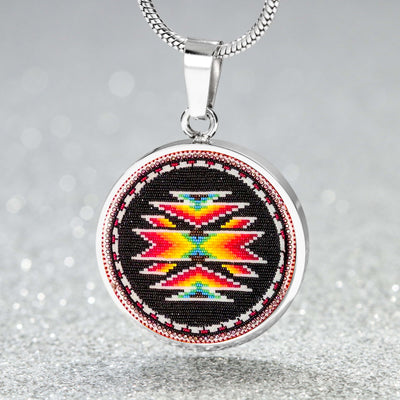 Totem Path Round Luxury Necklace