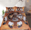 The 4 Spirit Animals Dreamcatcher Bedding Set
