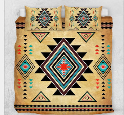 The Native-inspired Bedding Set 3pcs