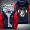 Omega Wolf Fleece Zipper Jacket