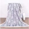 White Feather Arrows Sherpa Blanket