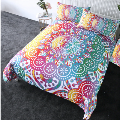 Mandala Flower Bedding Set