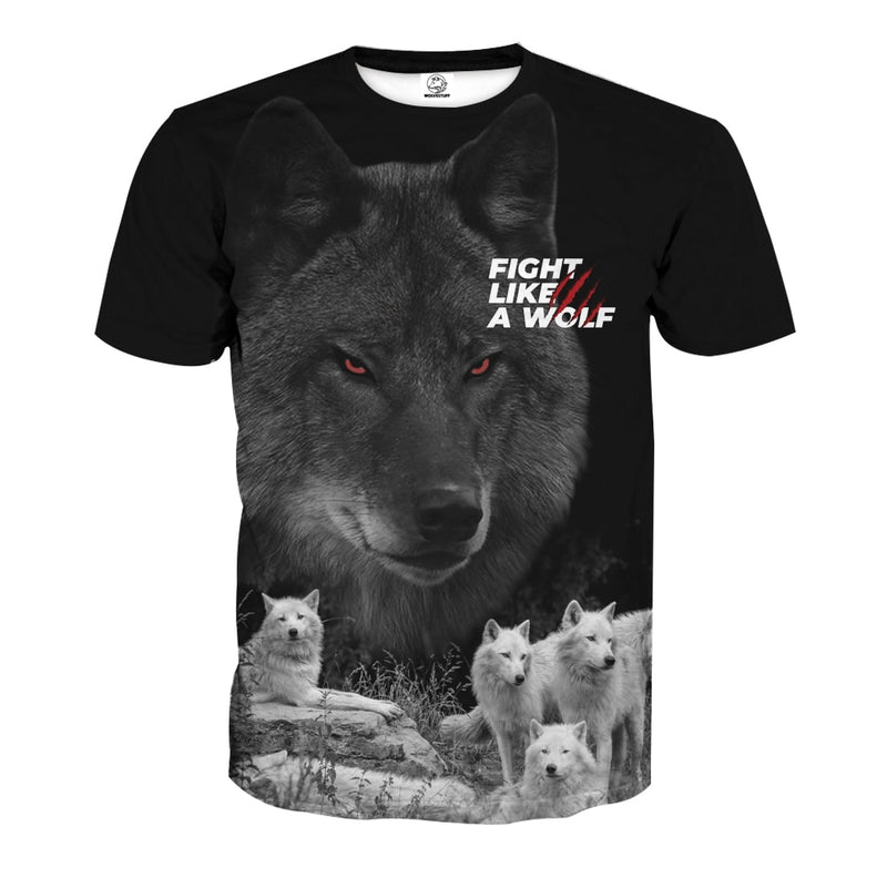 Fight Like a Wolf Shirt