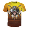 4 Wolves Warrior Shirt