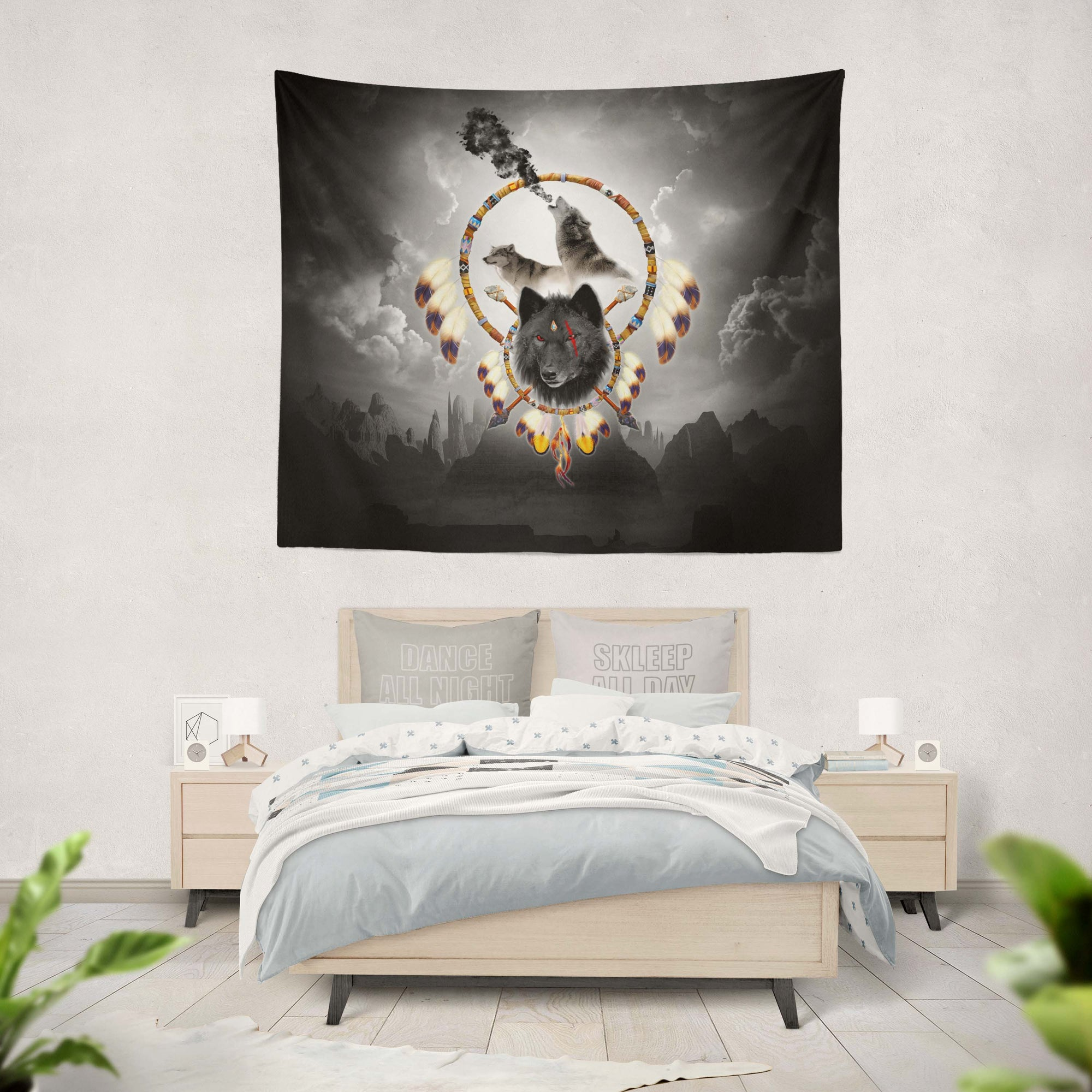 Alpha Warrior Tapestry