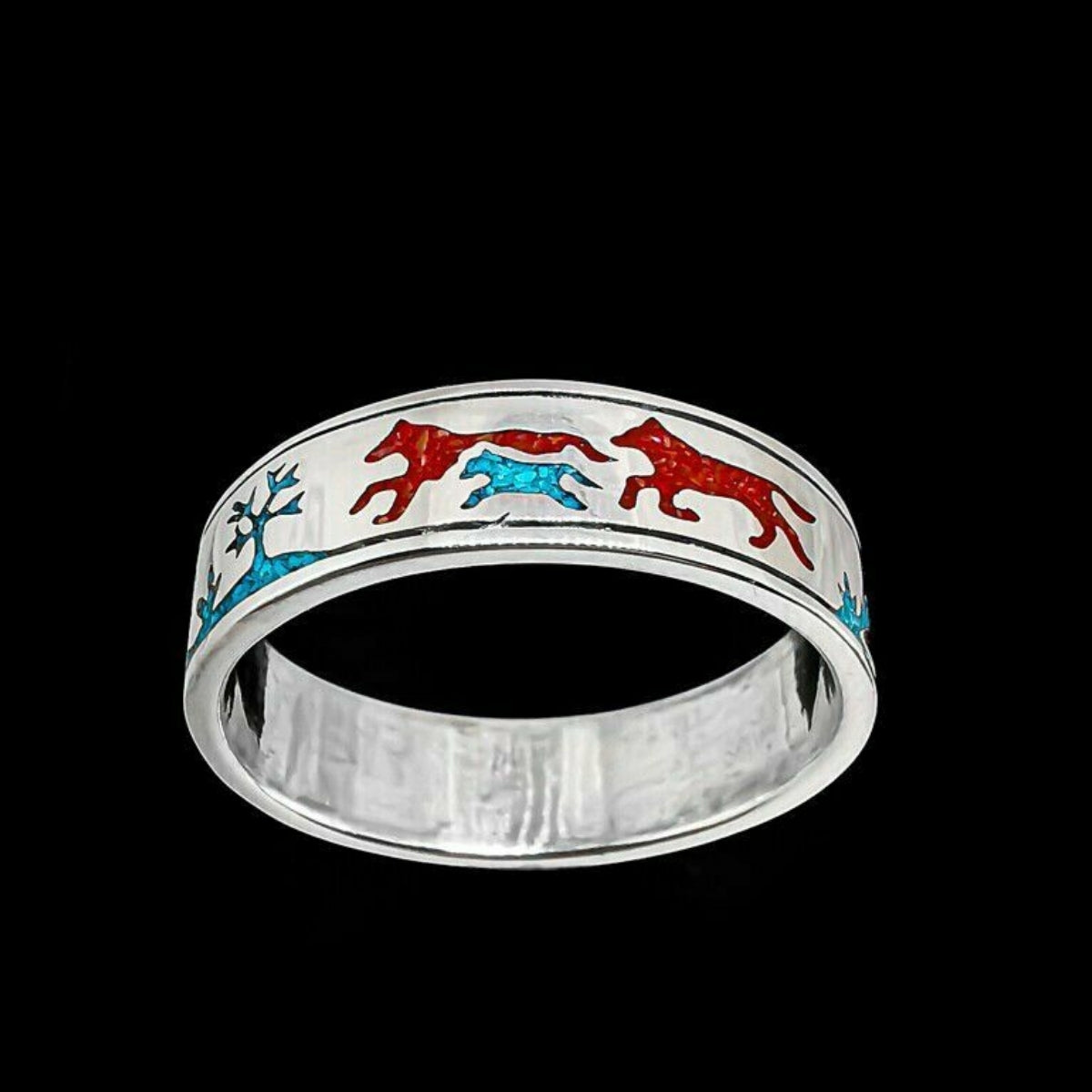 The World of a Wolf Ring