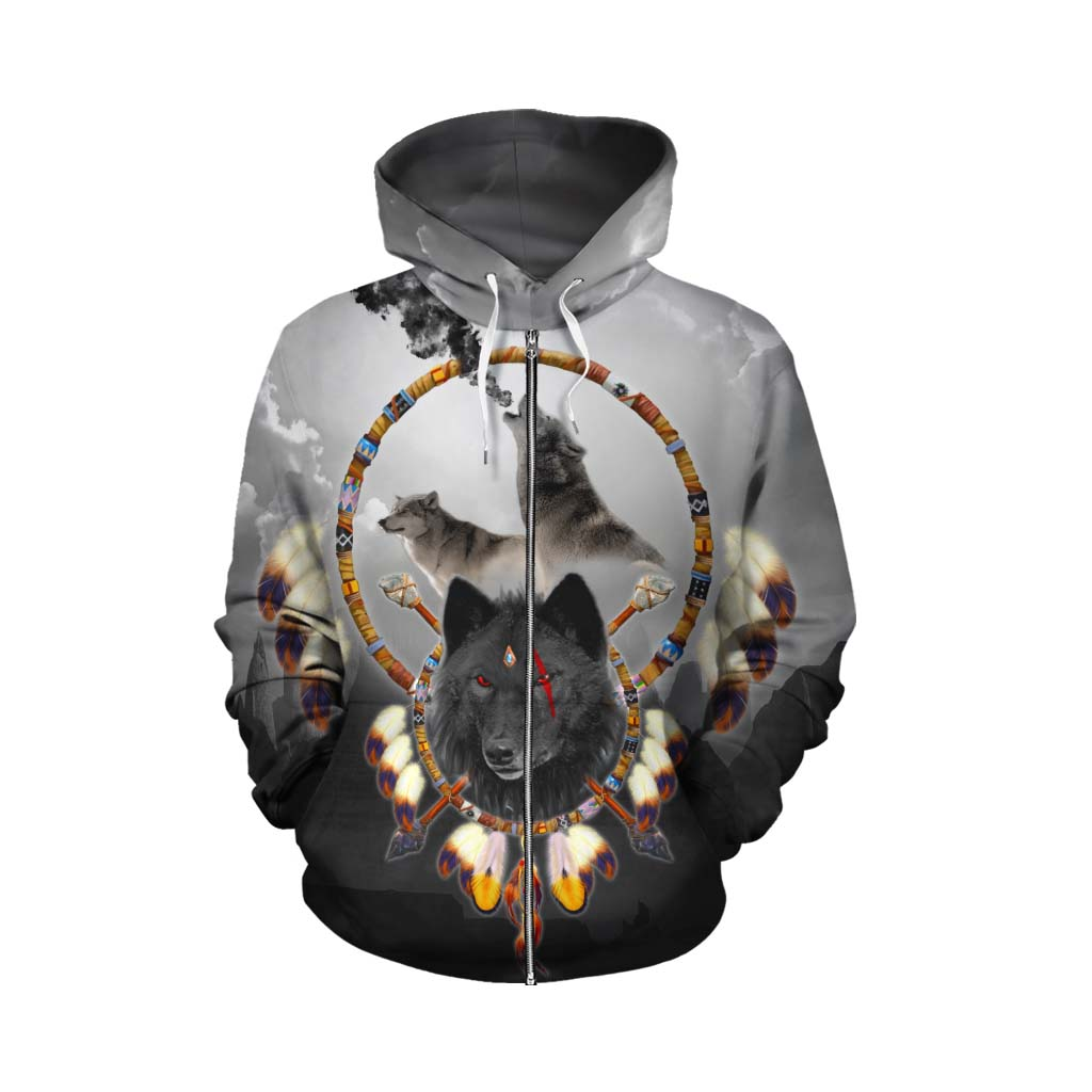 Alpha Warrior Zip Up Hoodie