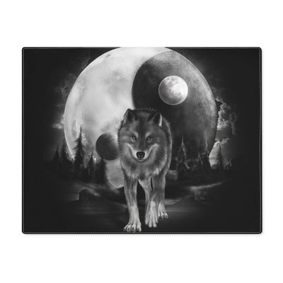 Luna Moon Wolf Placemat