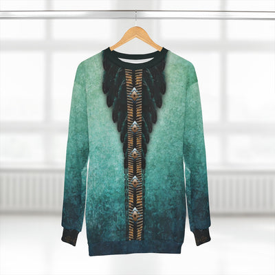 Sea of Emeralds All over print Sweatshirt
