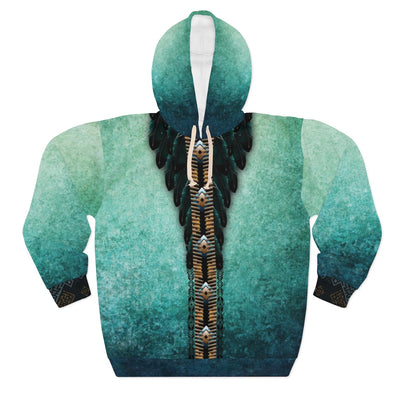 Sea of Emeralds All over print hoodie