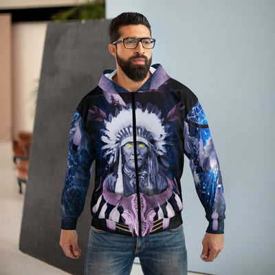 Totem Visions All Over Print Zip Hoodie