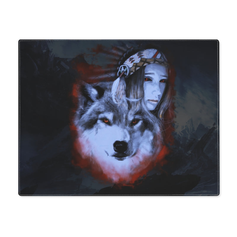 My Wolf My Spirit Placemat