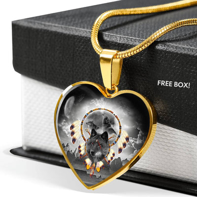 Alpha Warrior Heart Luxury Necklace