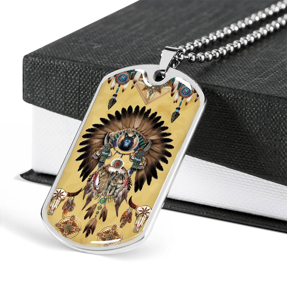 Totem Spirits Dog Tag
