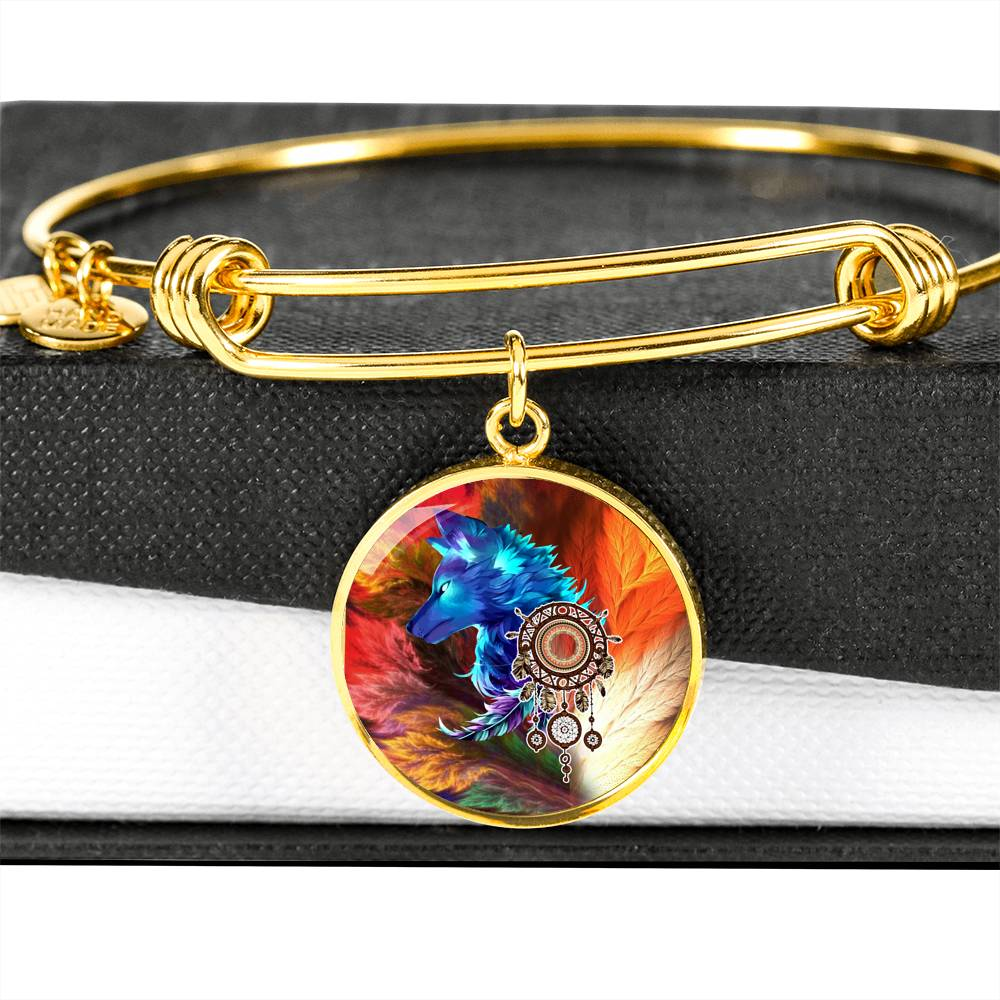 Storm Wolf Luxury Bangle