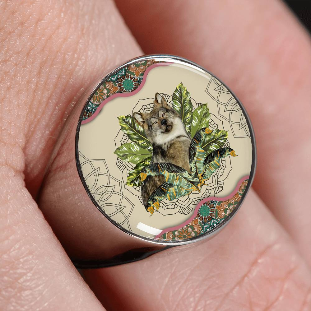Forest Guardian Signet Ring