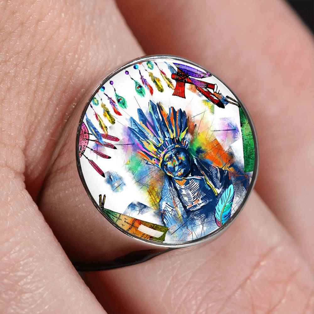 Colors Of The Wind Signet Ring