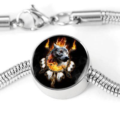 Fire Chief Nation Circle Luxury Bracelet