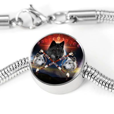 Guardian Of Peace Black Circle Luxury Bracelet