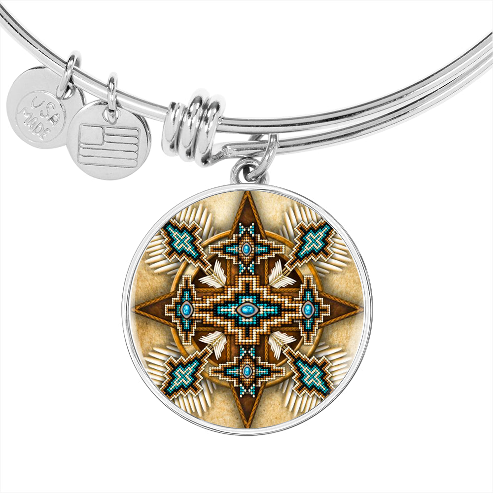 Turquoise Morningstar Luxury Bangle