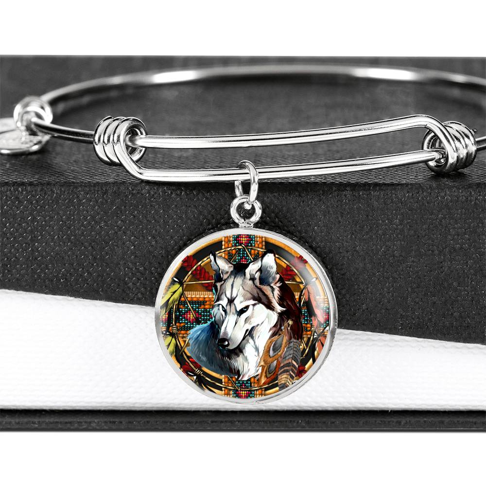 Mighty Wolf Luxury Bangle