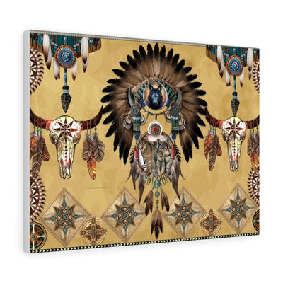 Totem Spirits Canvas Gallery Wraps