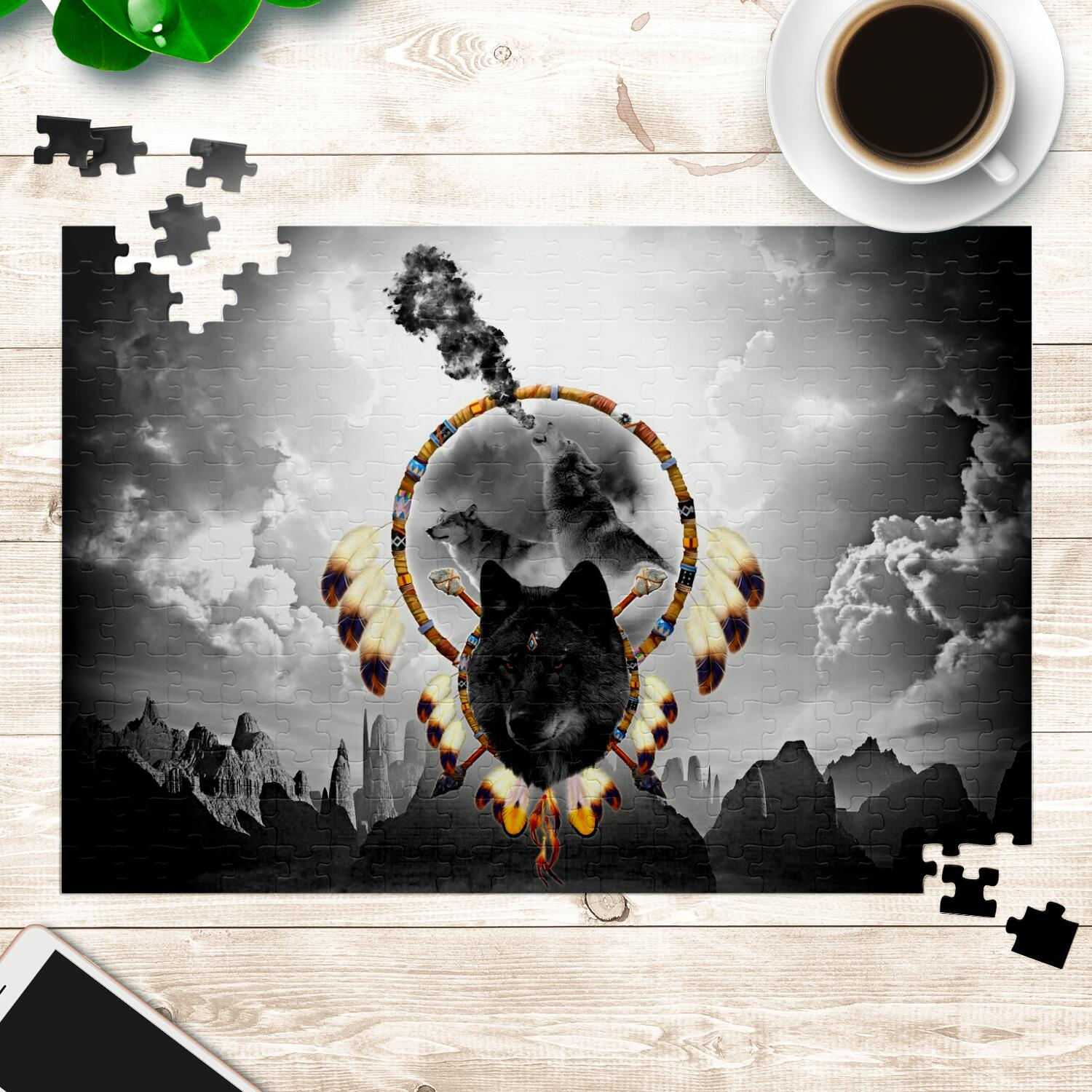 Alpha Warrior Jigsaw Puzzles
