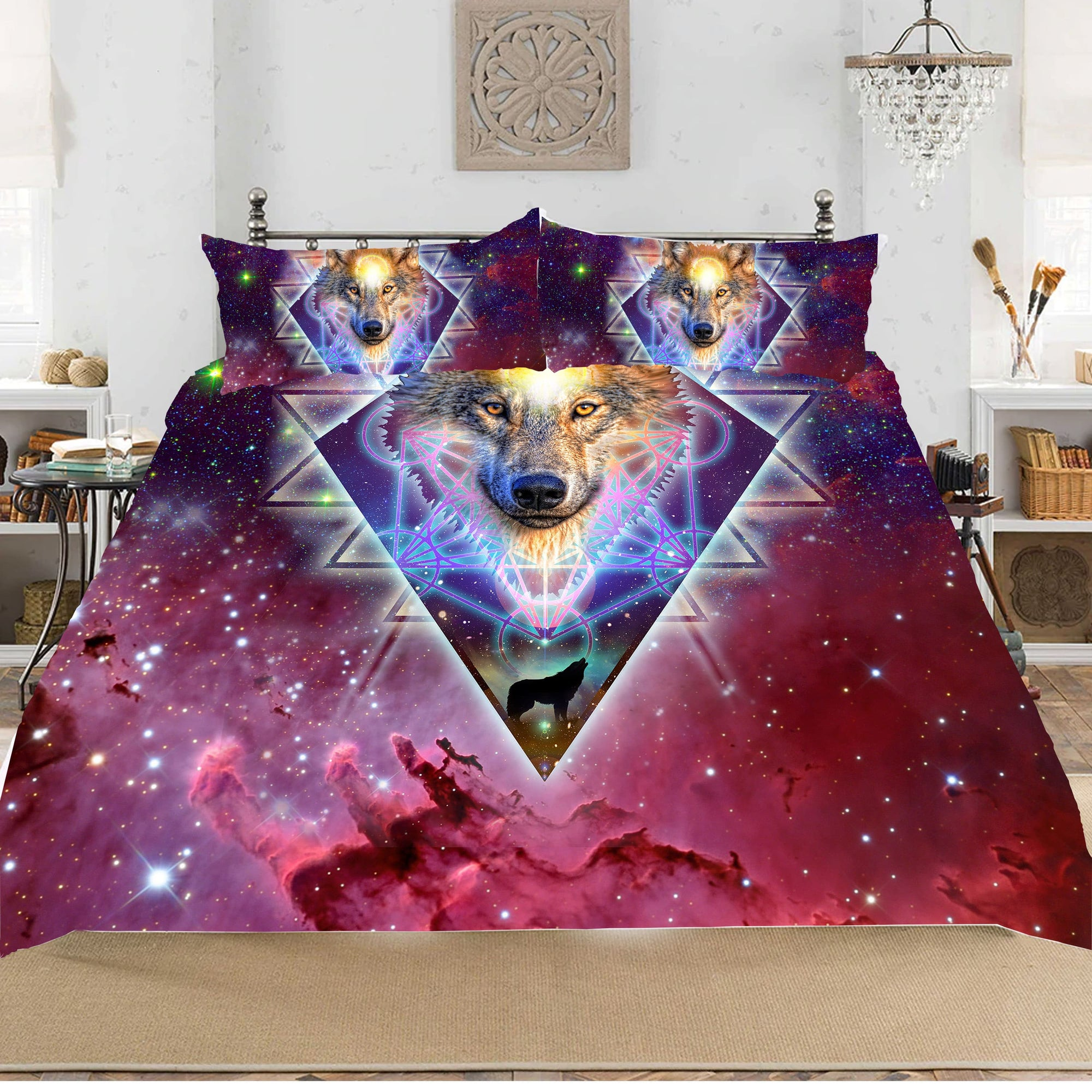 Ancient Knowledge Bedding Set 3pcs