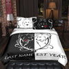 Mr & Mrs Wolves Bedding Set