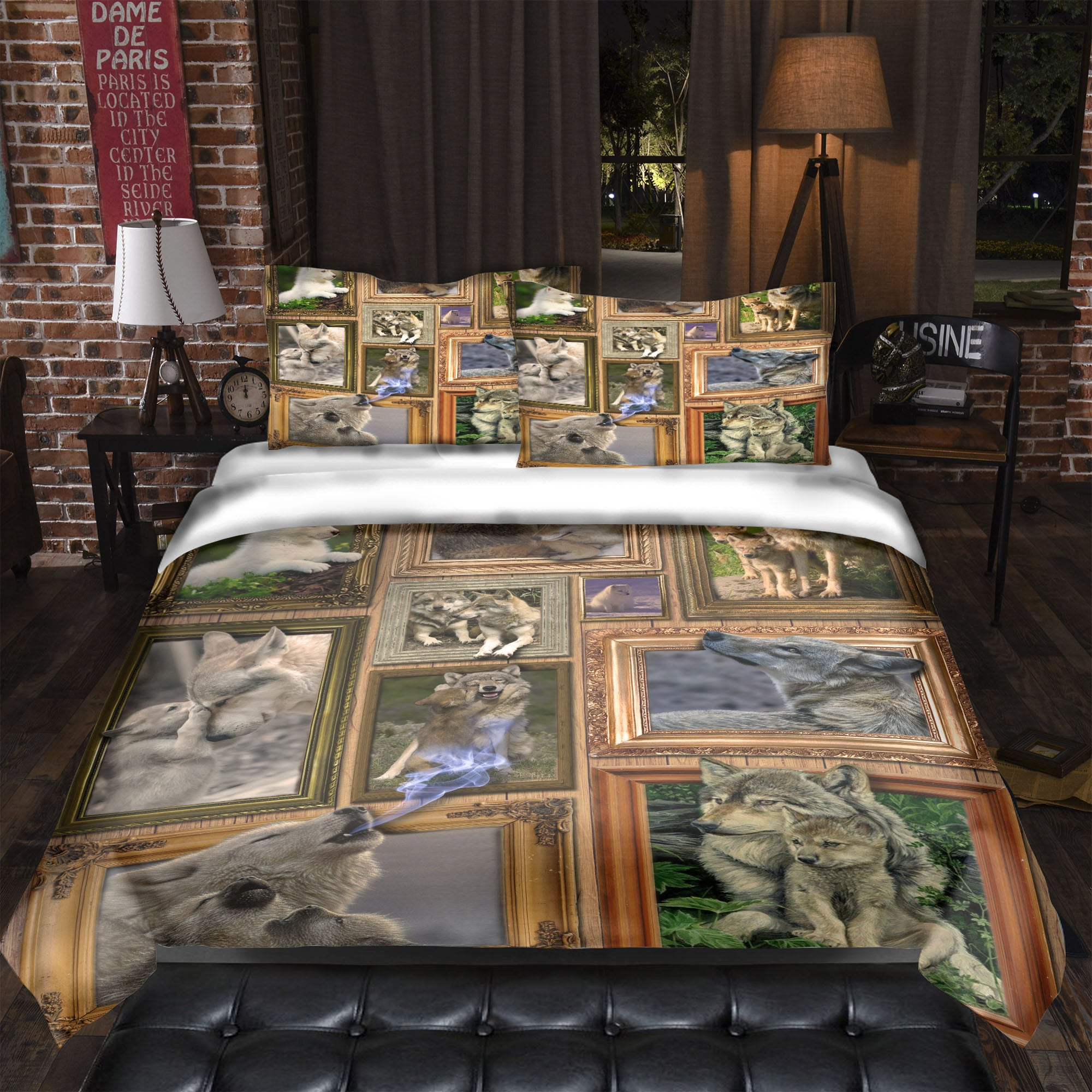 Astonishing Wolf Collection Bedding Set