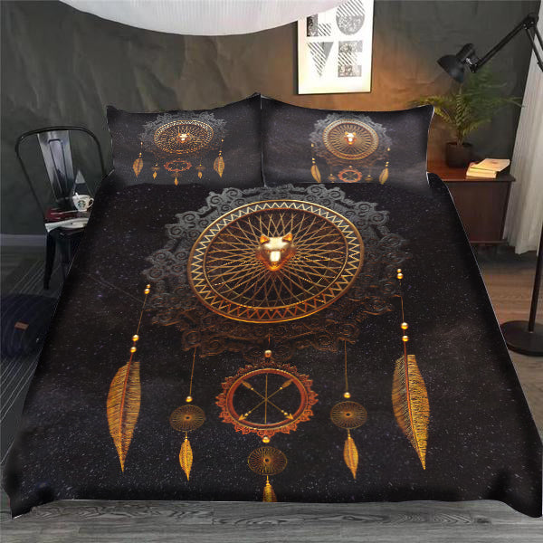 Eternal Wolf Bedding Set