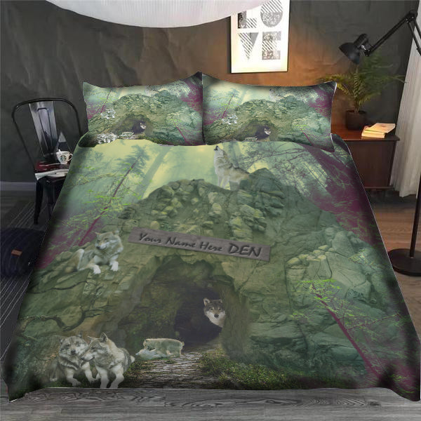 My Wolves' Den Bedding Set