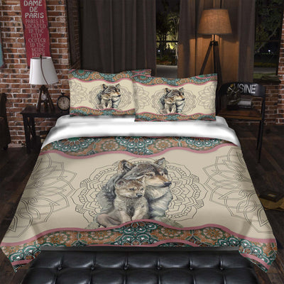 Wolf Mom's Love Bedding Set