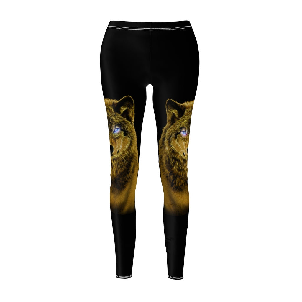 Brilliance Yellow All Over Print Leggings