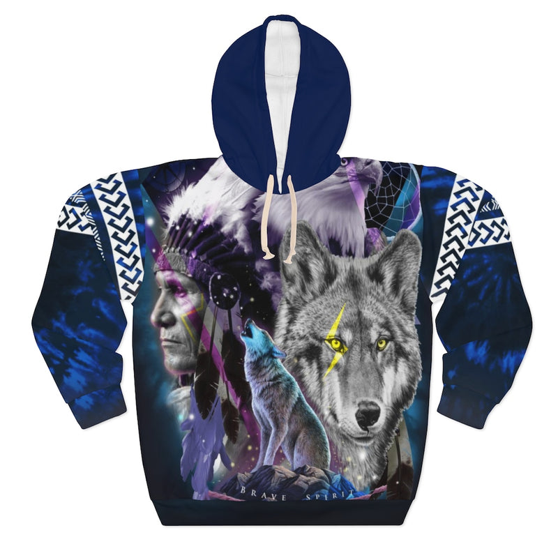 brave spirit All Over Print Hoodie