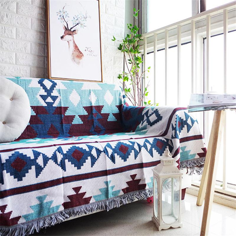 Pleasing Native American Zia Sofa Throw Cover Wolvestuff Home Remodeling Inspirations Cosmcuboardxyz