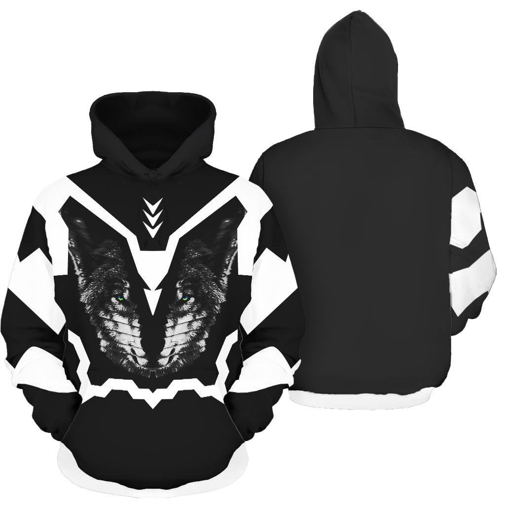 Divide and Conquer All Over Print Hoodie