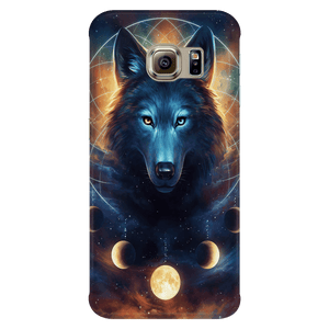 Dreamcatcher Wolf Phone Case By JojoesArt