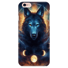 Load image into Gallery viewer, Dreamcatcher Wolf Phone Case By JojoesArt