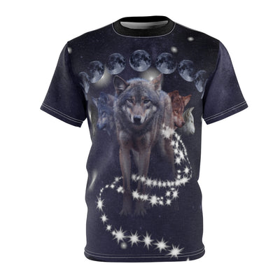 Phases of Luna All Over Print T-shirt